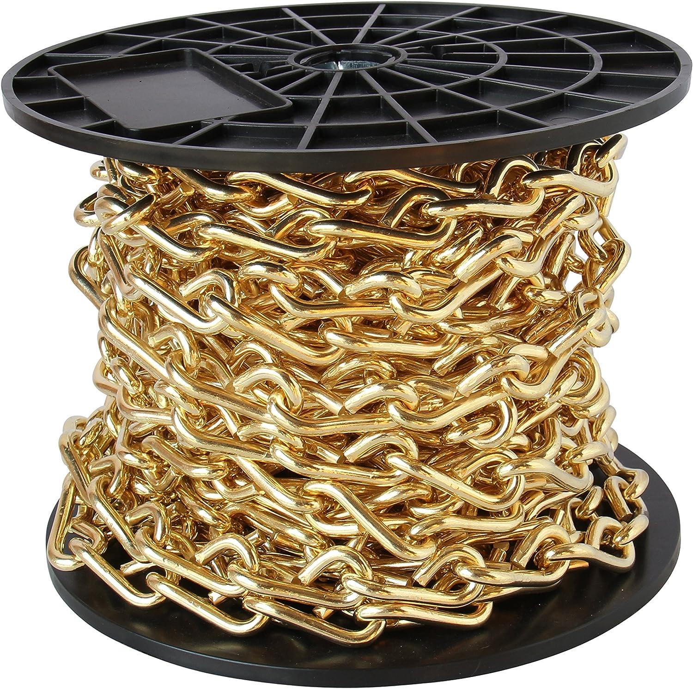 10 Feet RCH Hardware CH-S50-06-BLK-10 Steel Chandelier Chain Black