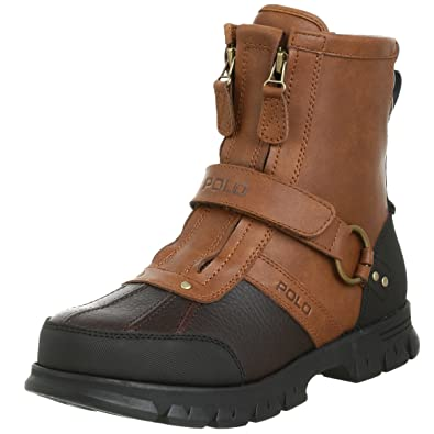 Polo Ralph Lauren Men\u0027s Conquest 2 Hi Boot,Tan/Briarwood,15 ...