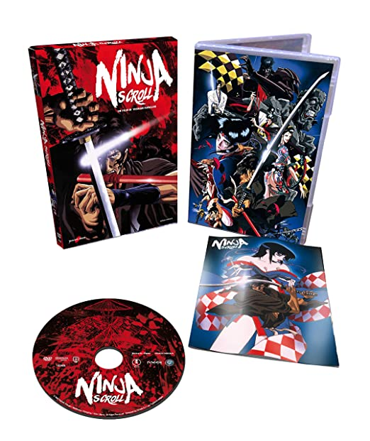 Ninja Scroll [Italia] [DVD]: Amazon.es: Yoshiaki Kawajiri ...