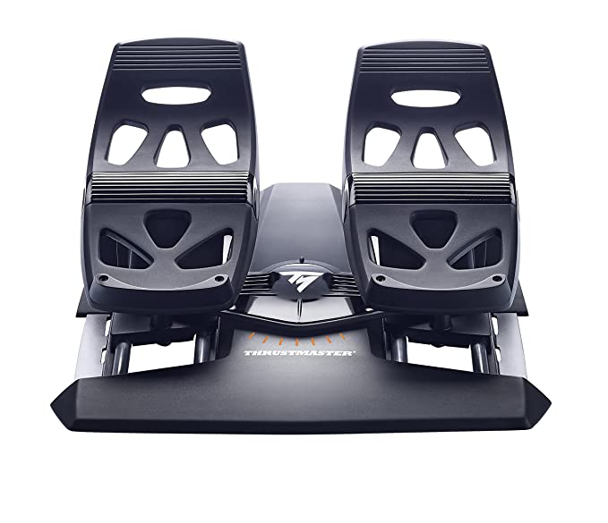 Thrustmaster TFRP Flight Rudder Pedals for PC & Playstation 4 by ThrustMaster: Amazon.es: Videojuegos