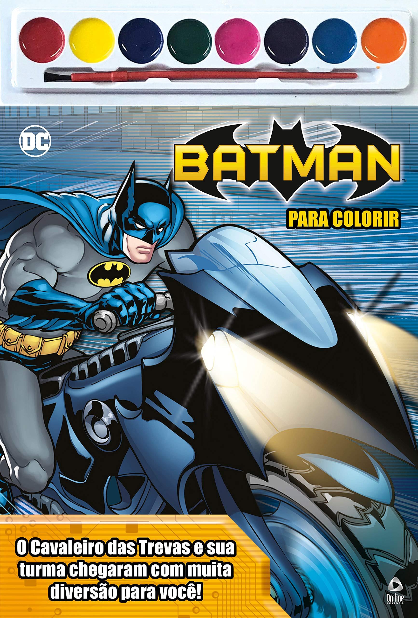 Batman Para Colorir On Line Editora 9788543223414 Amazon Com Books