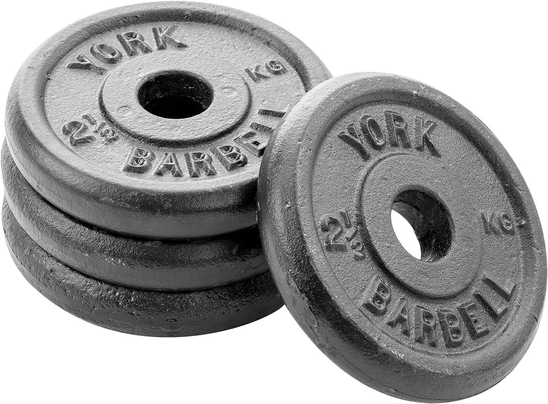 York Fitness X4 - Disco de Hierro Forjado
