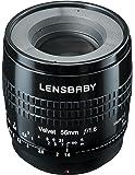 Lensbaby ソフトレンズ Velvet 56 56mm F1.6 ソニー αEマウント ブラック フルサイズ対応 860052
