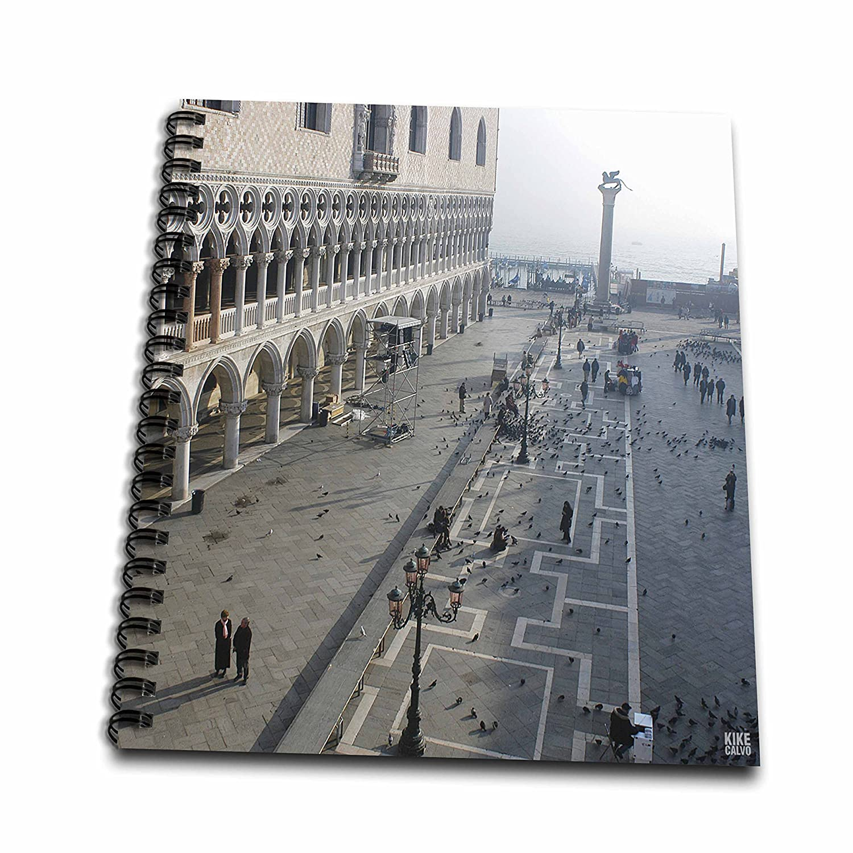 3dRose db 45523 _ 2 St Marks square en Venecia Venecia en italy-memory libro, 12 de 30,48 cm 897607
