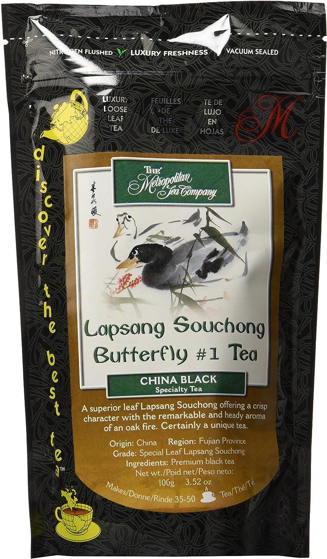 Metropolitan Tea Discovery Loose Tea Pack, Lapsang Souchong China Black, 100gm