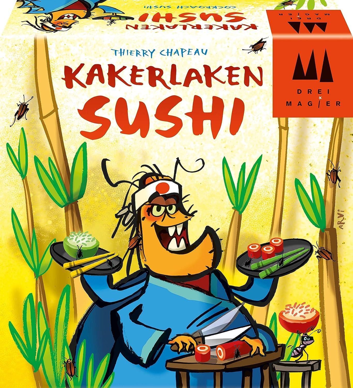 Schmidt Spiele 40885 Sushi - Juego de coleccionar cucarachas, Multicolor: Amazon.es: Juguetes y juegos