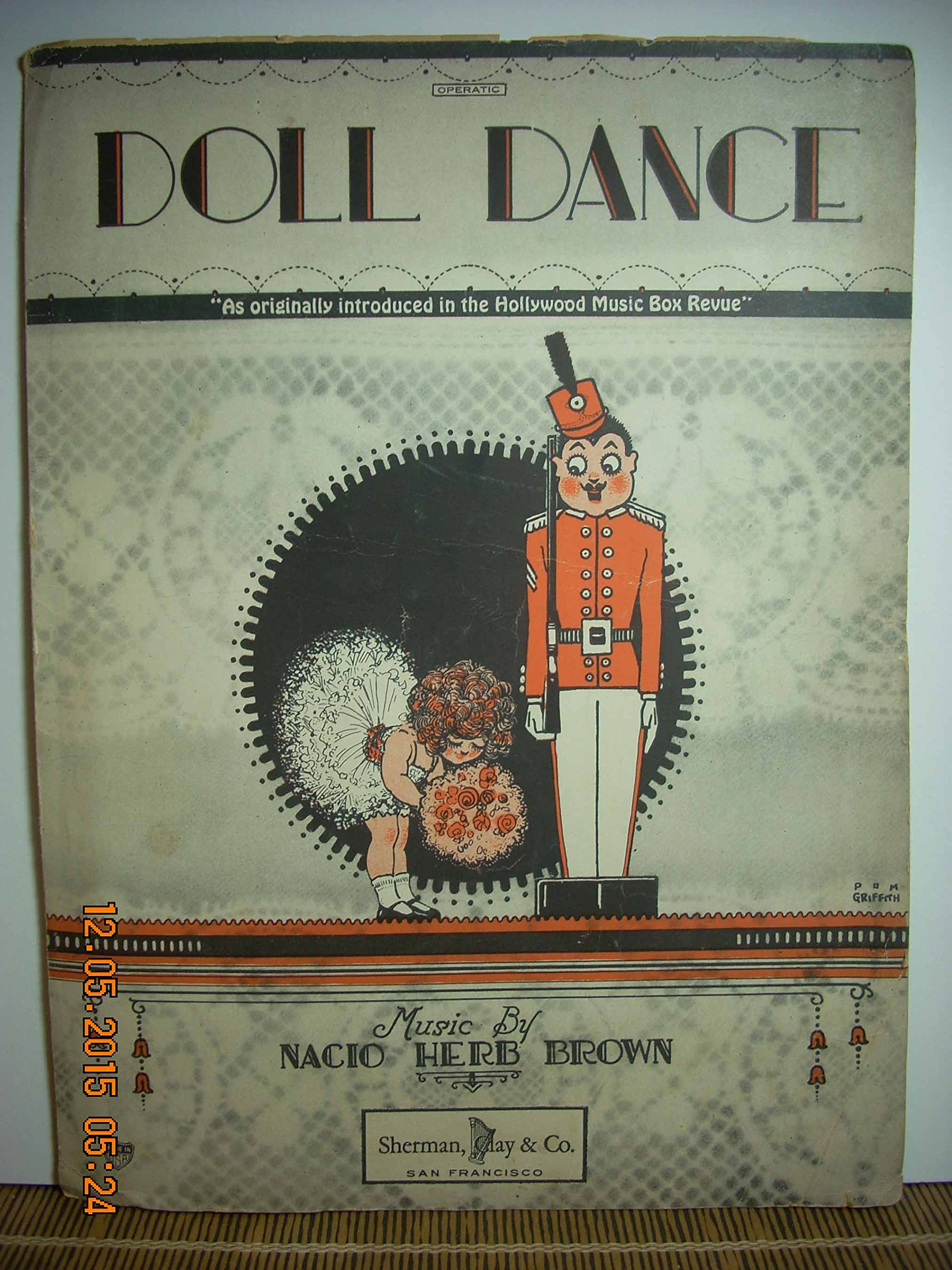DOLL DANCE: As originally introduced in the Hollywood Music Box Revue Music by Nacio Herb Brown.