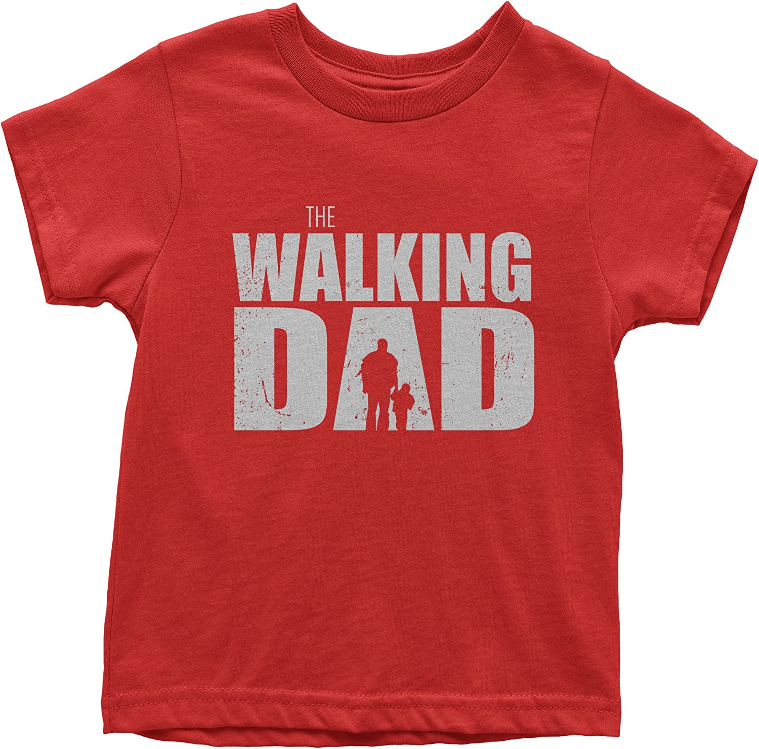 FerociTees The Walking Dad Funny Fathers Day Youth T-Shirt
