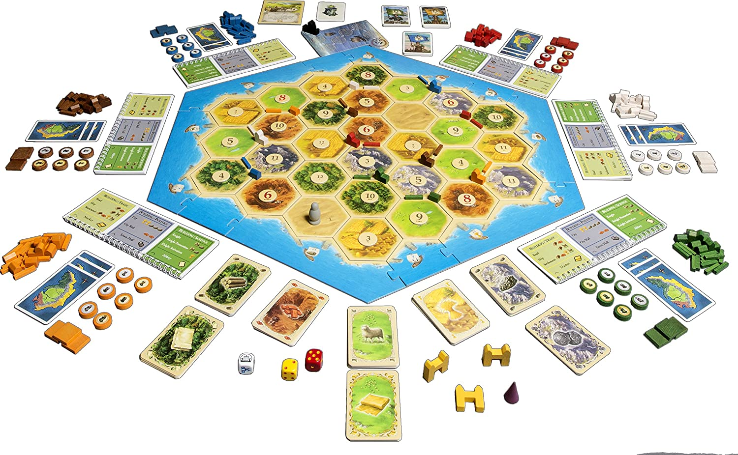 Catan: Cities and Knights 5-6 player Extension: Amazon.es ...