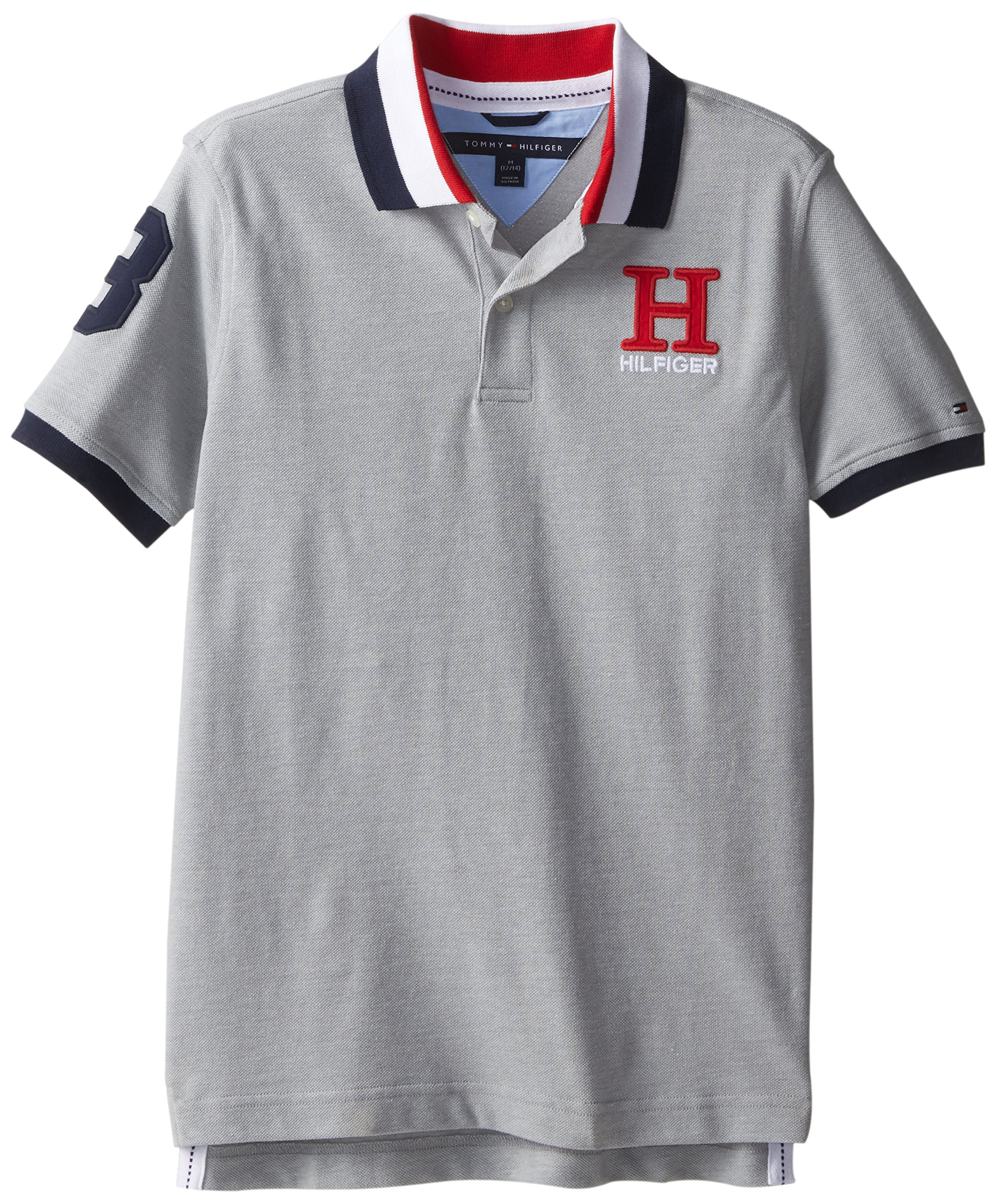 9e8efafa7bca Galleon - Tommy Hilfiger Little Boys  Short Sleeve Matt Polo Shirt ...