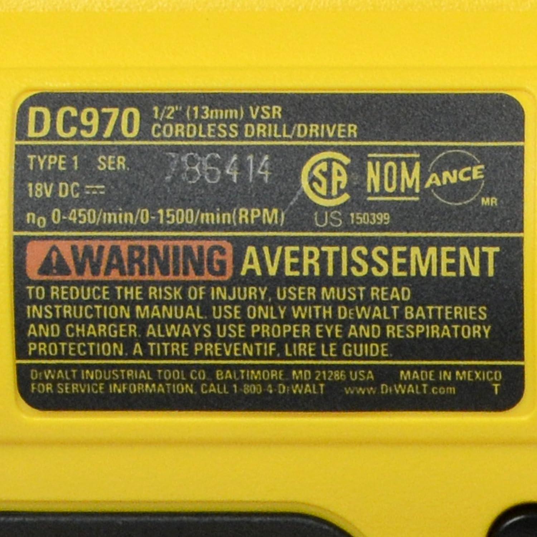 Dewalt service manuals about dewalt service array amazon com dewalt dc970 18v 1 2 cordless drill driver 2 pack rh amazon fandeluxe Choice Image