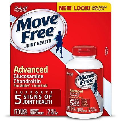 Amazon.com: Move Free Advanced, 170 tabletas – Salud de las ...