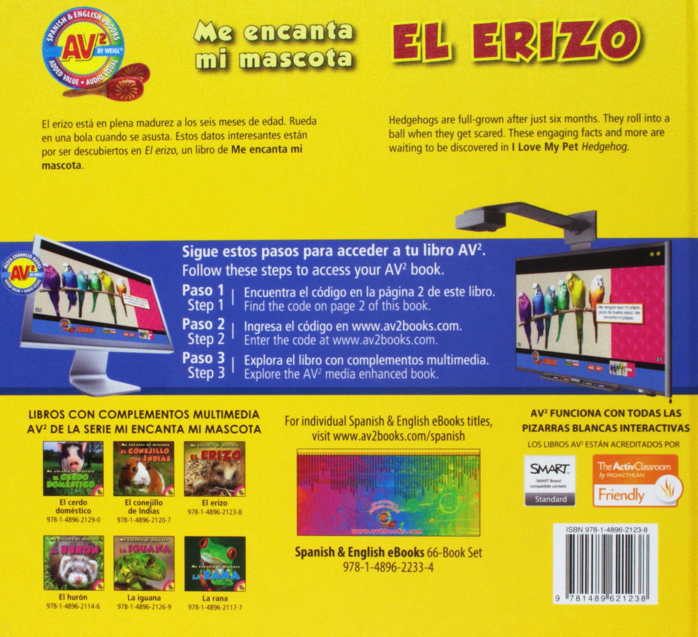 El Erizo (Me Encanta Mi Mascota) (Spanish Edition): Aaron ...