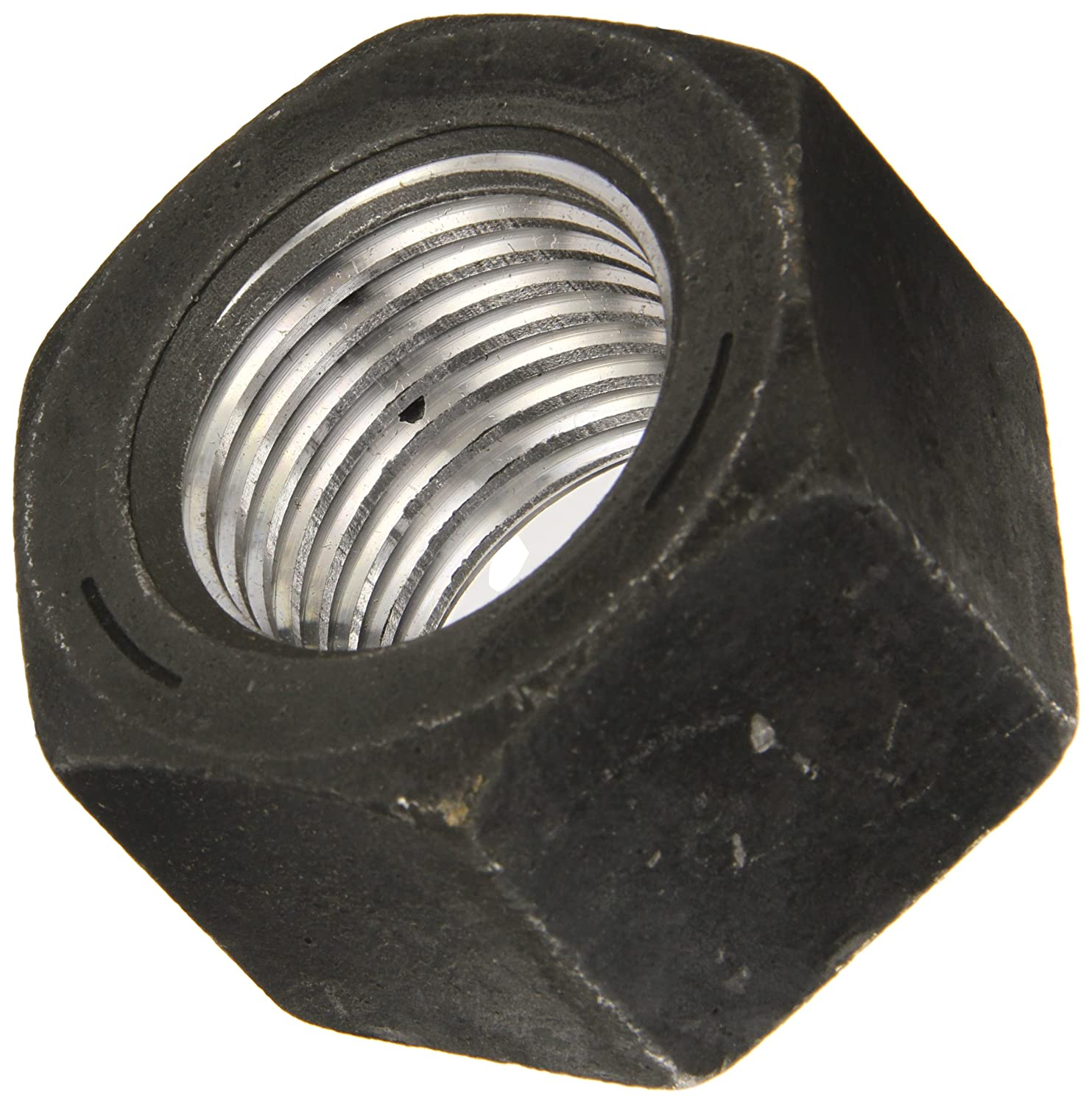 Plain Finish Steel Heavy Hex Nut 1-23//32 Thick 1-3//4-5 Thread Size 2-3//4 Width Across Flats 1-23//32 Thick Small Parts B009EF1HA4 1-3//4-5 Thread Size Grade 5 ASME B18.2.2 2-3//4 Width Across Flats