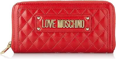 Love Moschino Portafogli Quilted Nappa Pu - Monedero Mujer