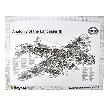 Anatomy of the Lancaster 1000Pc Jigsaw Puzzle, Jigsaw Puzzles ...