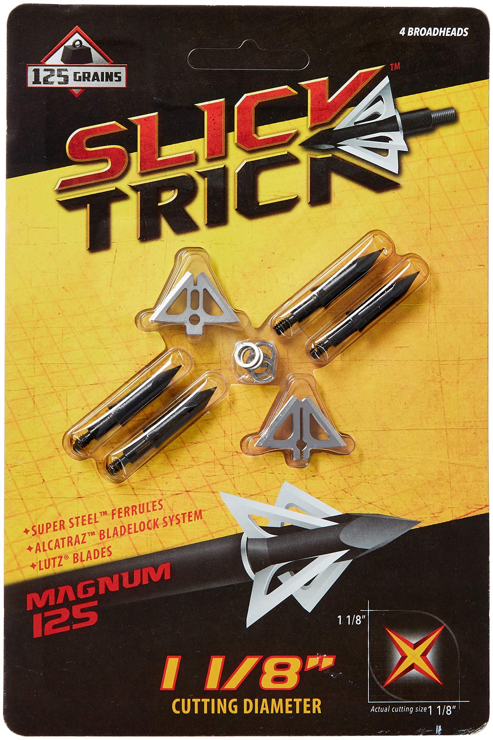 Slick Trick 1-1/8'' Magnum 4 pk 125 gr by Slick Trick