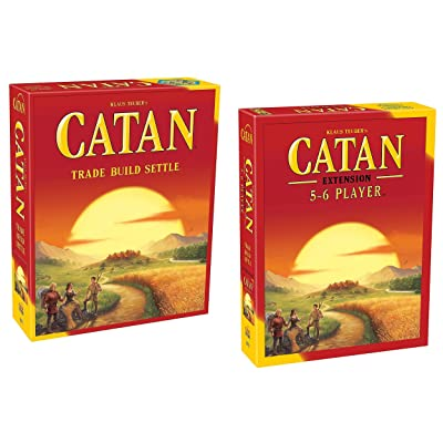Mayfair Games Catan 5th Edition with 5-6 Player Extension Game: Toys & Games
