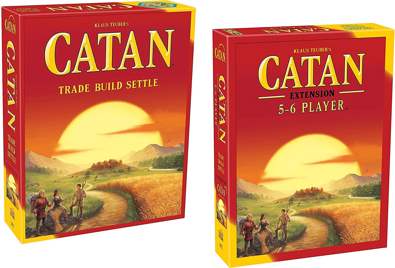 Catan - Bundle of Main Game with 5 - 6 Player Expansion: Amazon.es ...