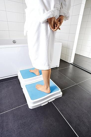 Dusche Mit Stufe premium badewannen dusche einstieg hilfe treppe stufe senioren