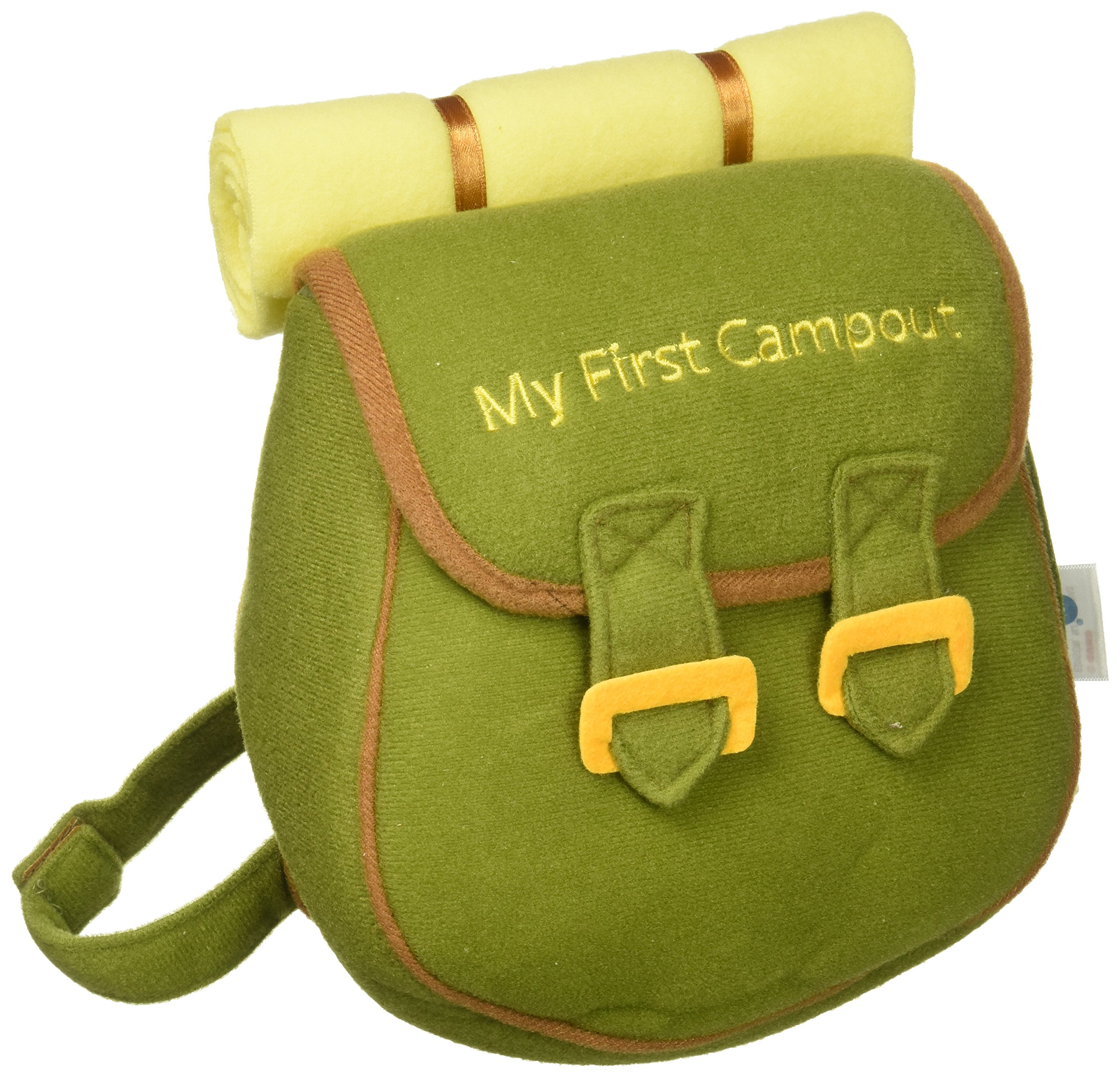 Amazon.com : Baby GUND My First Campout Stuffed Plush Playset : Baby