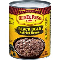 Old El Paso Black Bean Refried Beans, 16 Ounce