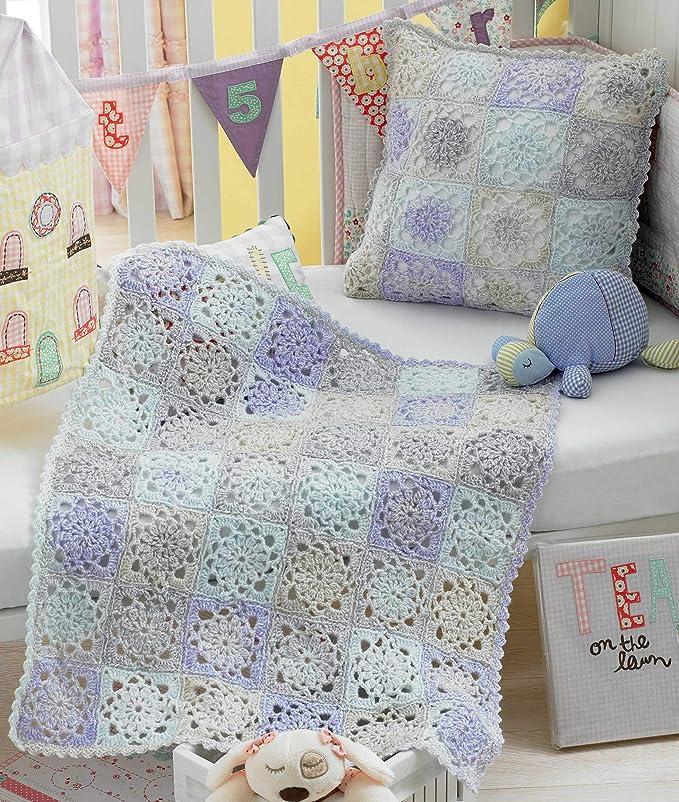 Amazon.com: King Cole Baby – Libro para tejer crochet One 20 ...