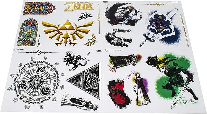 Paladone Nintendo Legend of Zelda Hyrule - Vinyl Gadget Decals