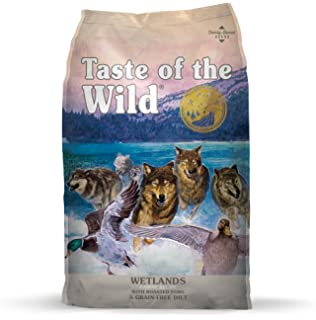 Amazon com: Taste of the Wild Grain Free High Protein Real Meat