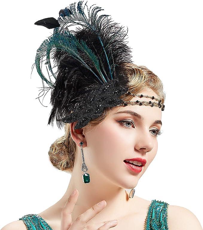 1920/'s Flapper Headband Costume Accessory
