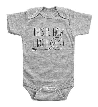 Amazon.com: InkCallies - Mono de baloncesto para bebé, con ...
