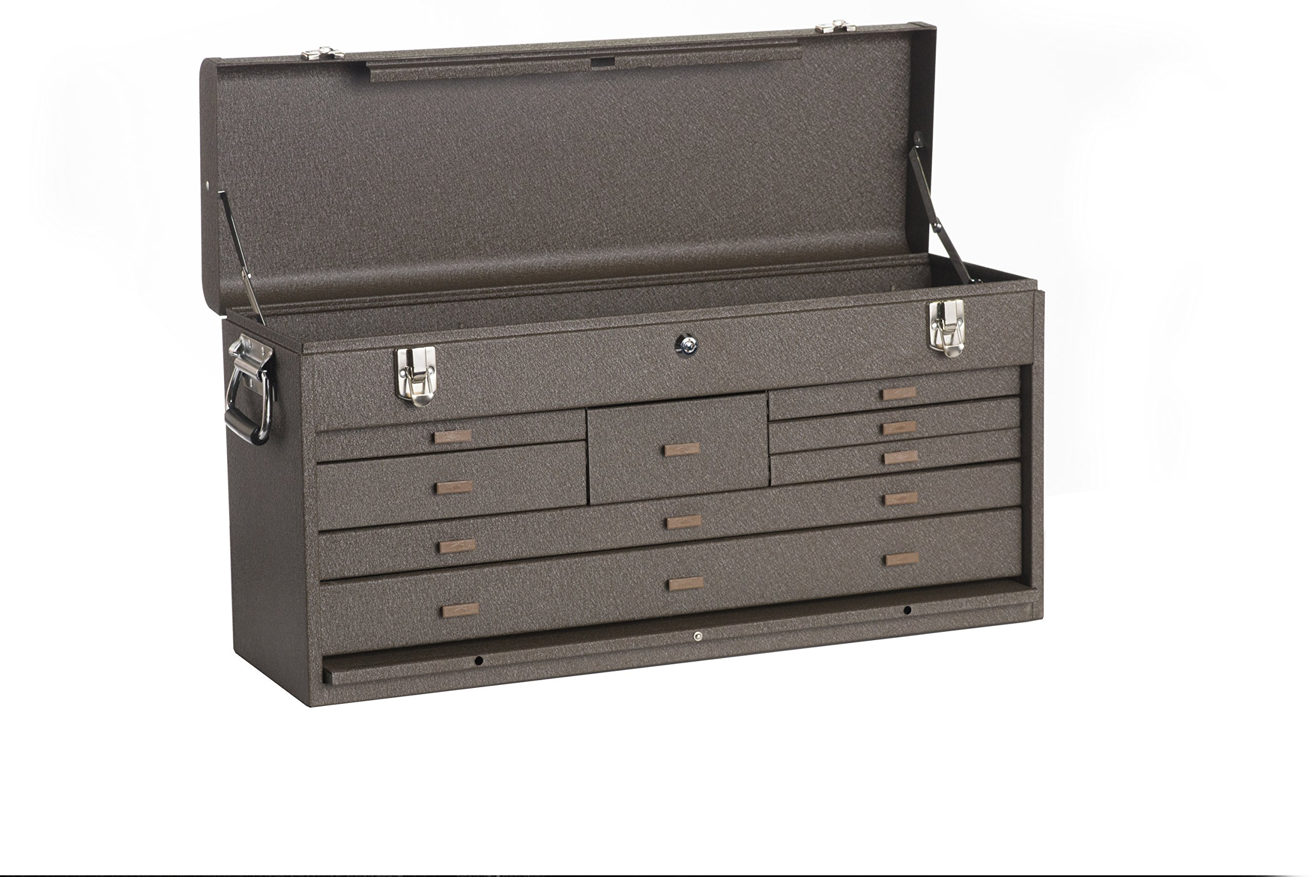 Kennedy Manufacturing 526B 8-Drawer Machinist's Chest with Friction Slides, Brown Wrinkle by Kennedy Manufacturing (Image #2)