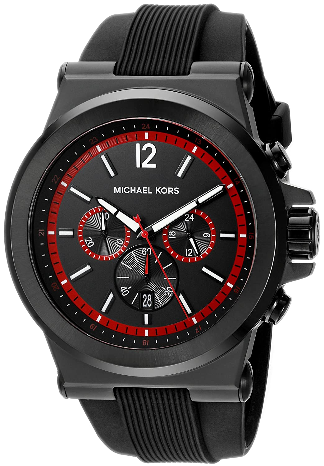 Amazon.com: Michael Kors Mens Dylan Black Watch MK8453: Watches