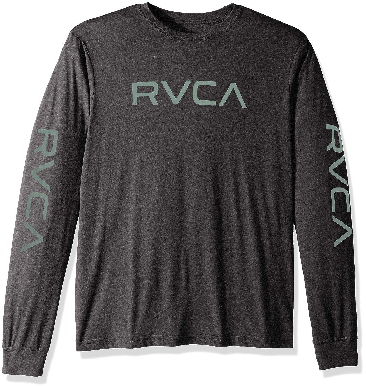 RVCA Mens Big Long Sleeve T-Shirt