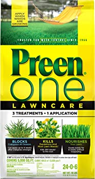 PREEN 18 pounds Granular Weed And Feed