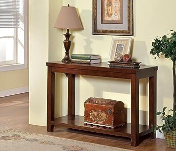 Amazon.com: Muebles de América Granger – Mesa consola en ...