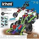 K'nex 15214 Rad Rides Set-206 Parts-12 Models-Ages 7 and up-Creative Building Construction Toy, Multicolour