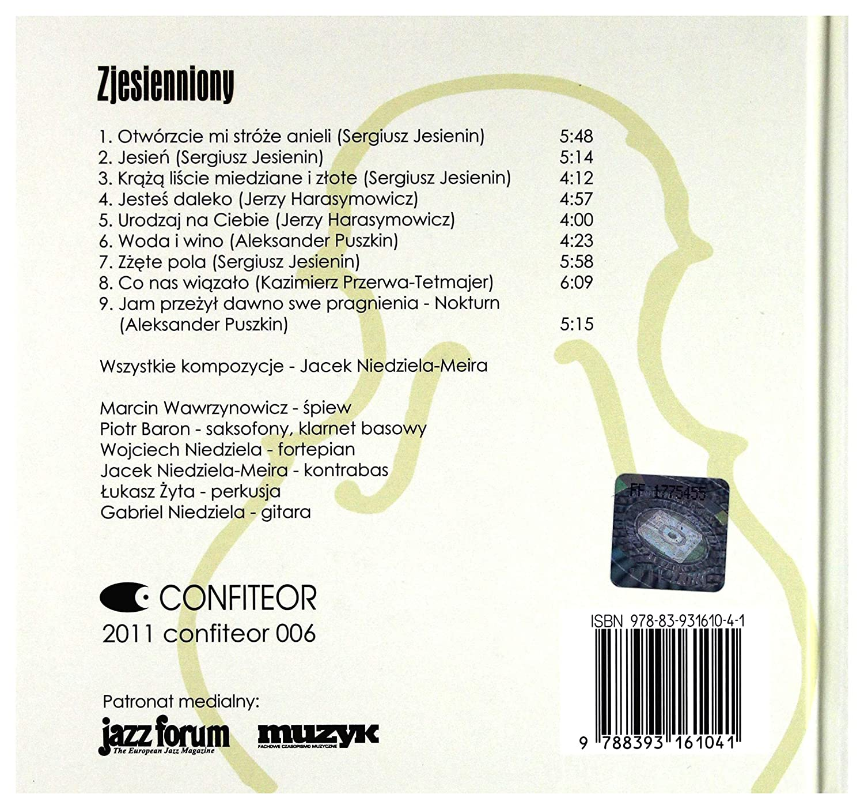 Jacek Niedziela Meira Zjesienniony Amazoncom Music