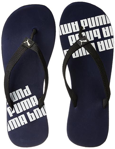 f1f230dfa631 Puma Men s Issac NG DP Navy Blue and Black Flip Flops Thong Sandals - 10 UK