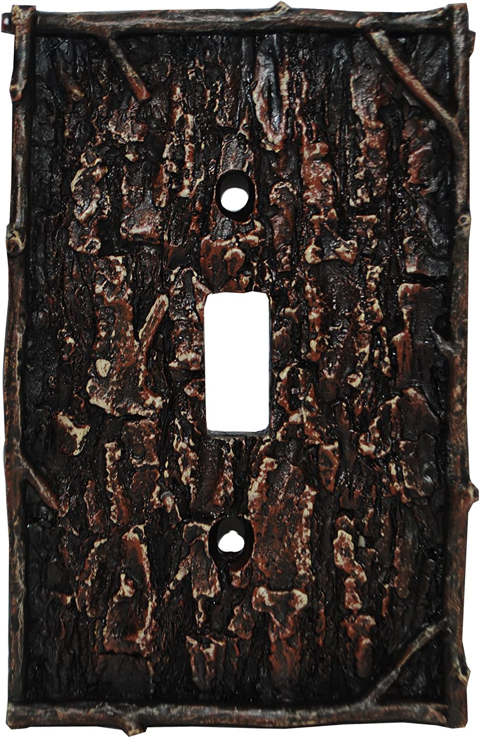 HiEnd Accents Pine Bark Single Switch