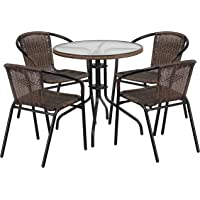 Amazon Best Sellers Best Office Table Chair Sets - Round office table and chair sets