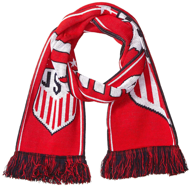 4 USMNT /& USWNT Designs Official US Soccer Scarf USWNT Split Crest