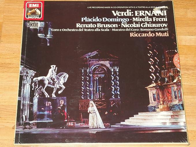 Amazon.com: SLS 1435843 Verdi Ernani Alla Scale Riccardo ...