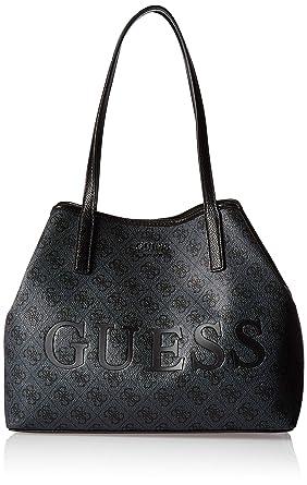 f890374037 Guess - Sac porté épaule ref_guess45188 COAL 37 * 26 * 15: Amazon.fr:  Vêtements et accessoires