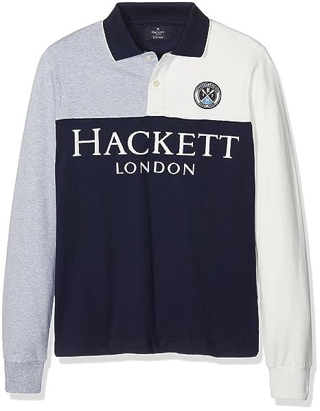 Hackett London LS Hf SP Hkt Y Polo para Niños: Amazon.es: Ropa y ...