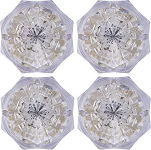 Jewel LED Night Light, Always On, Warm Amber Glow, 4 Pack, 41768