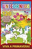 Unicórnios - Floresta Encantada: Livro de História com Adesivos
