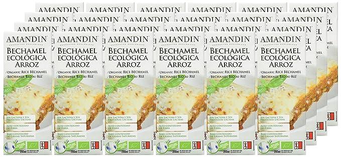 Amandin Bechamel de Arroz - Paquete de 24 x 200 gr - Total ...
