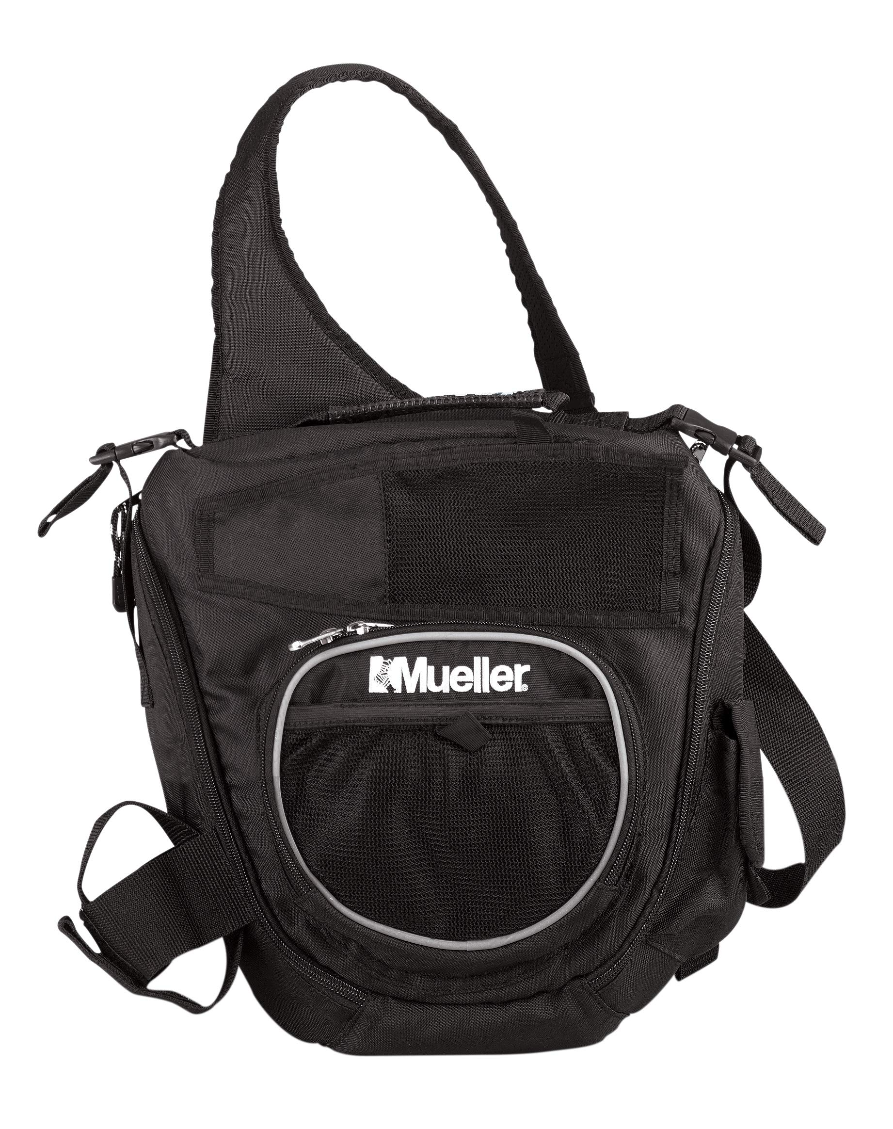 Mueller Sling Bag Athletic Trainer's Kit, Empty |Small Capacity Shoulder Sling AT Bag by Mueller