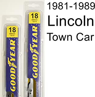 "product image for Lincoln Town Car (1981-1989) Wiper Blade Kit - Set Includes 18"" (Driver Side), 18"" (Passenger Side) (2 Blades Total)"